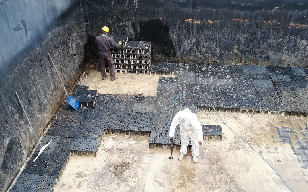 La manutenzione di un impianto di biofiltrazione