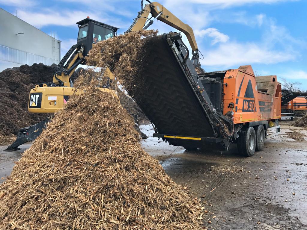 Triturazione legname - Biofiltrazione.it